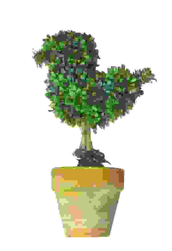MINI TOPIARY BIRD (20cm)
