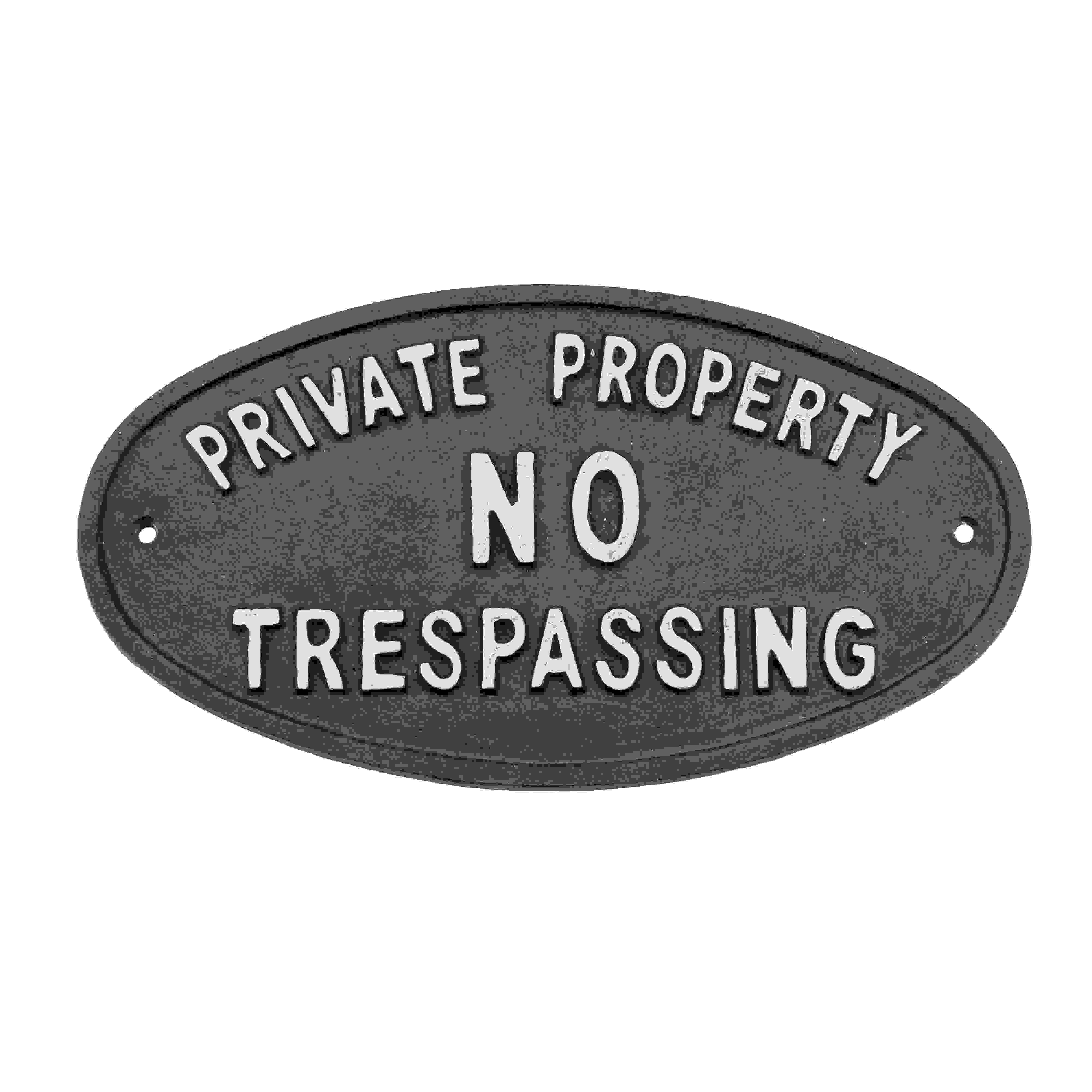 SIGN - PRIVATE PROPERTY
