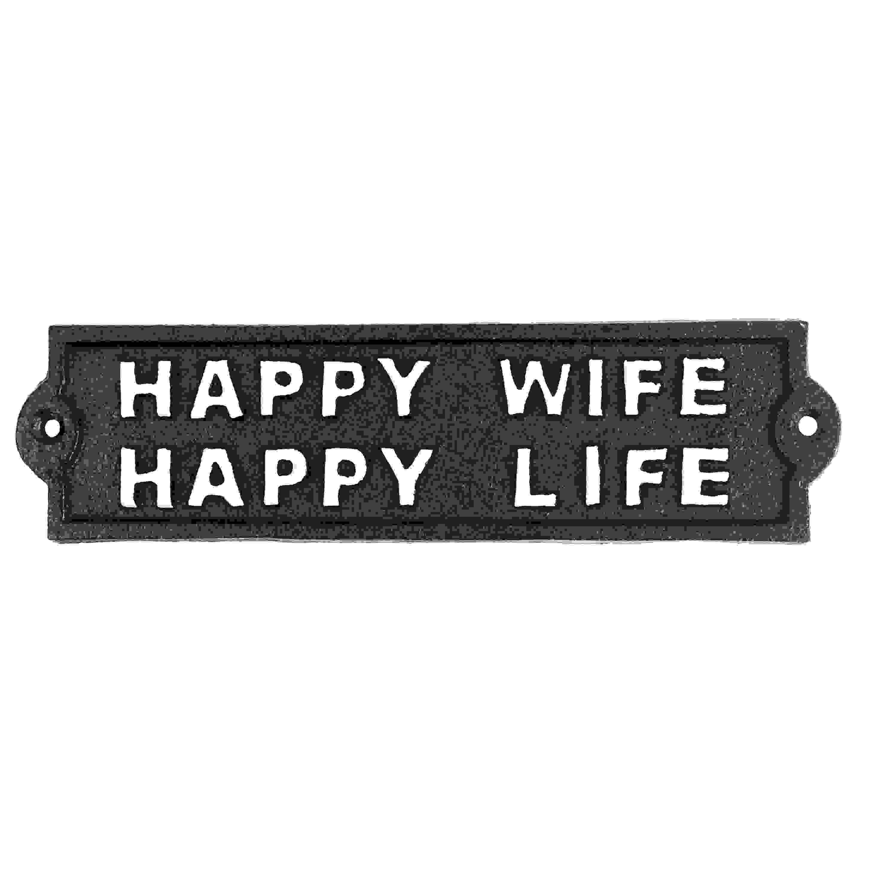 SIGN - HAPPY WIFE