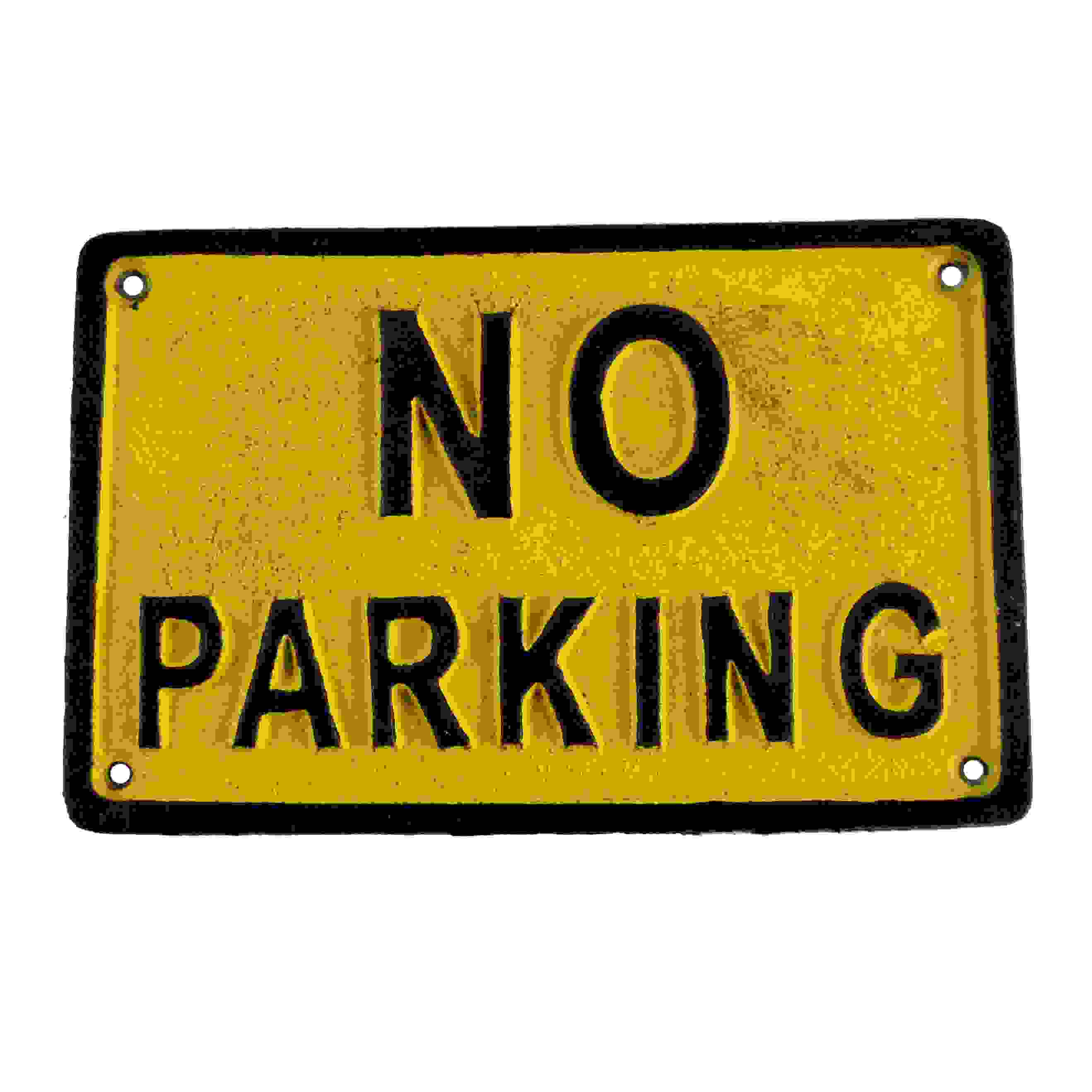 SIGN - NO PARKING