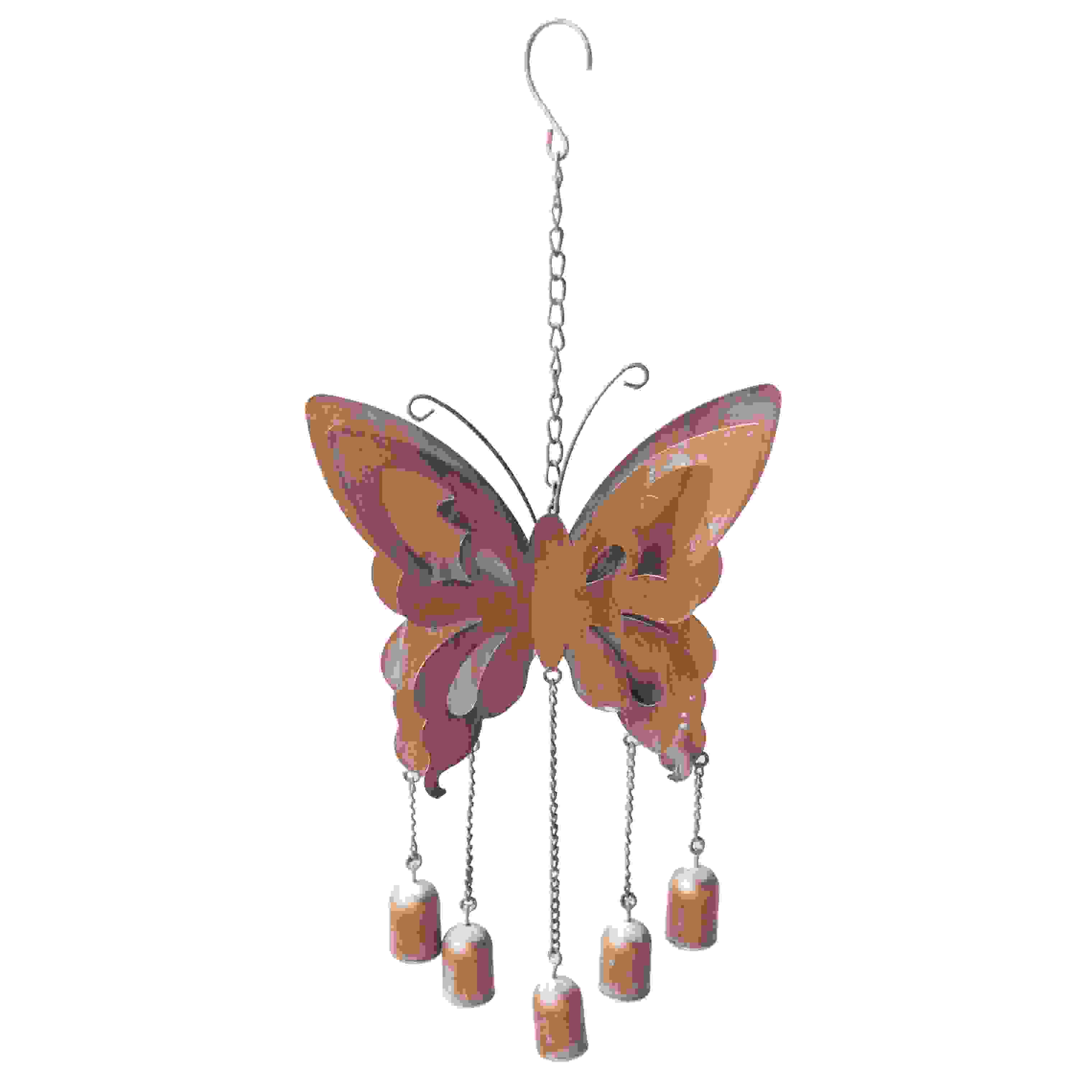 BUTTERFLY WINDCHIME W/BELLS