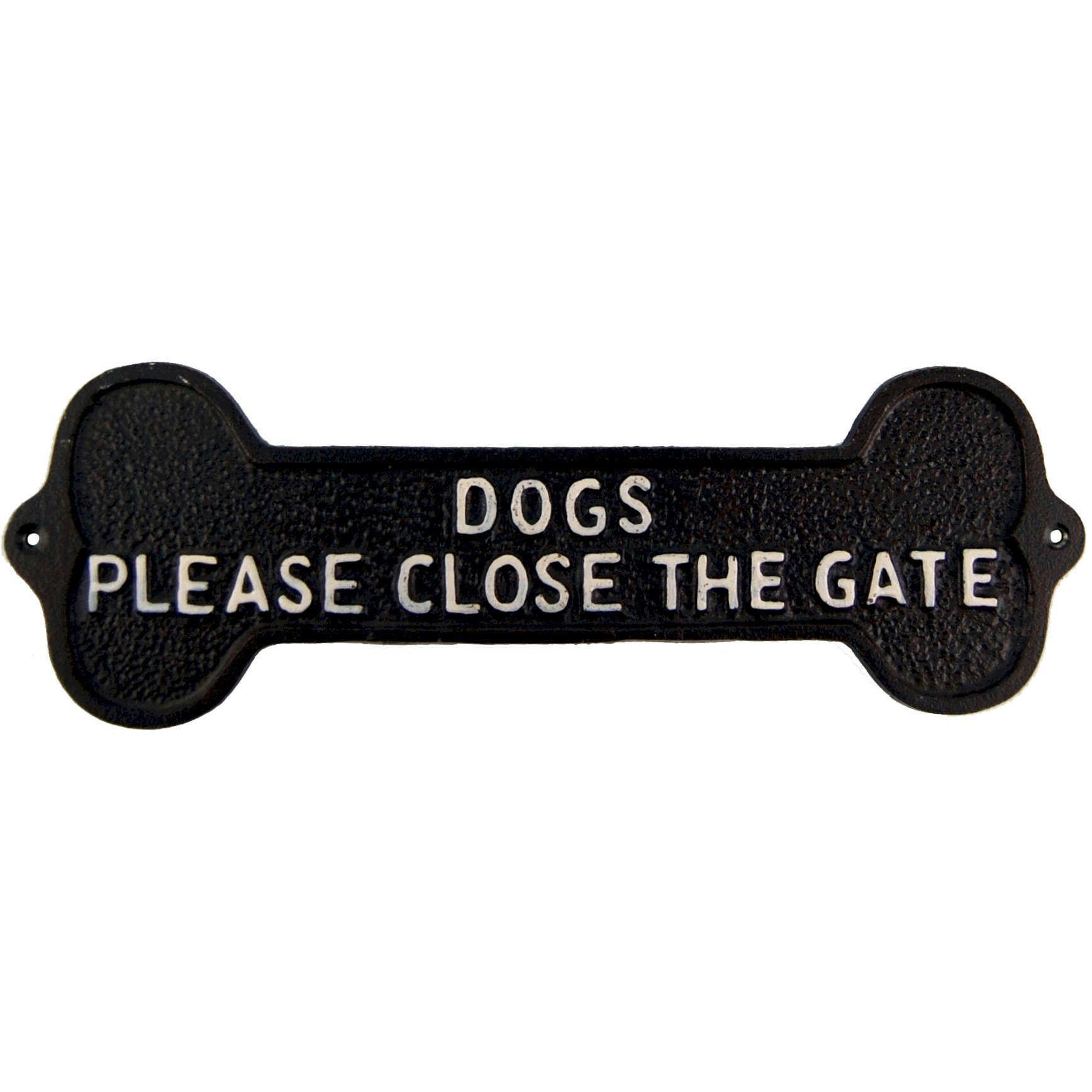 SIGN - DOGS CLOSE THE GATE