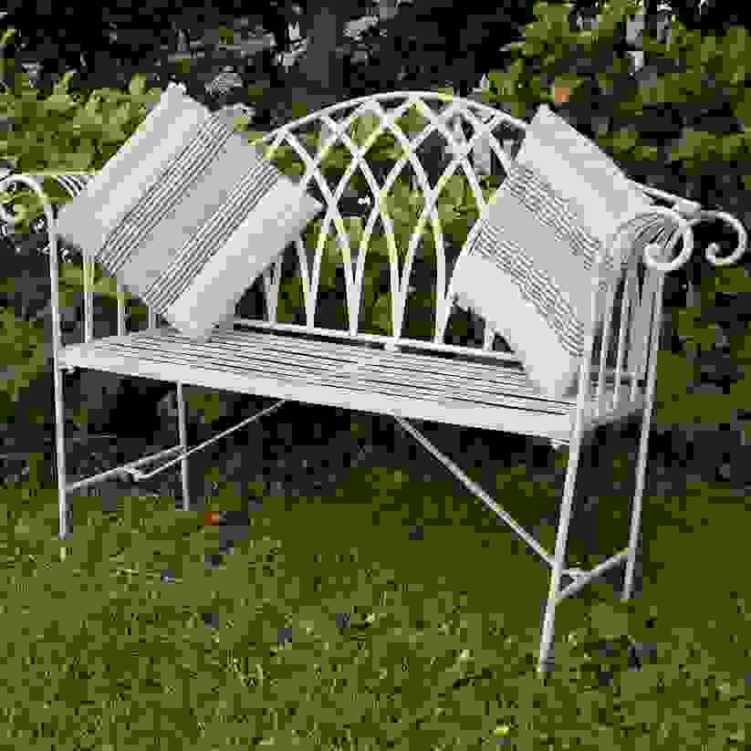 KINGS. GARDEN BENCH - CREAM