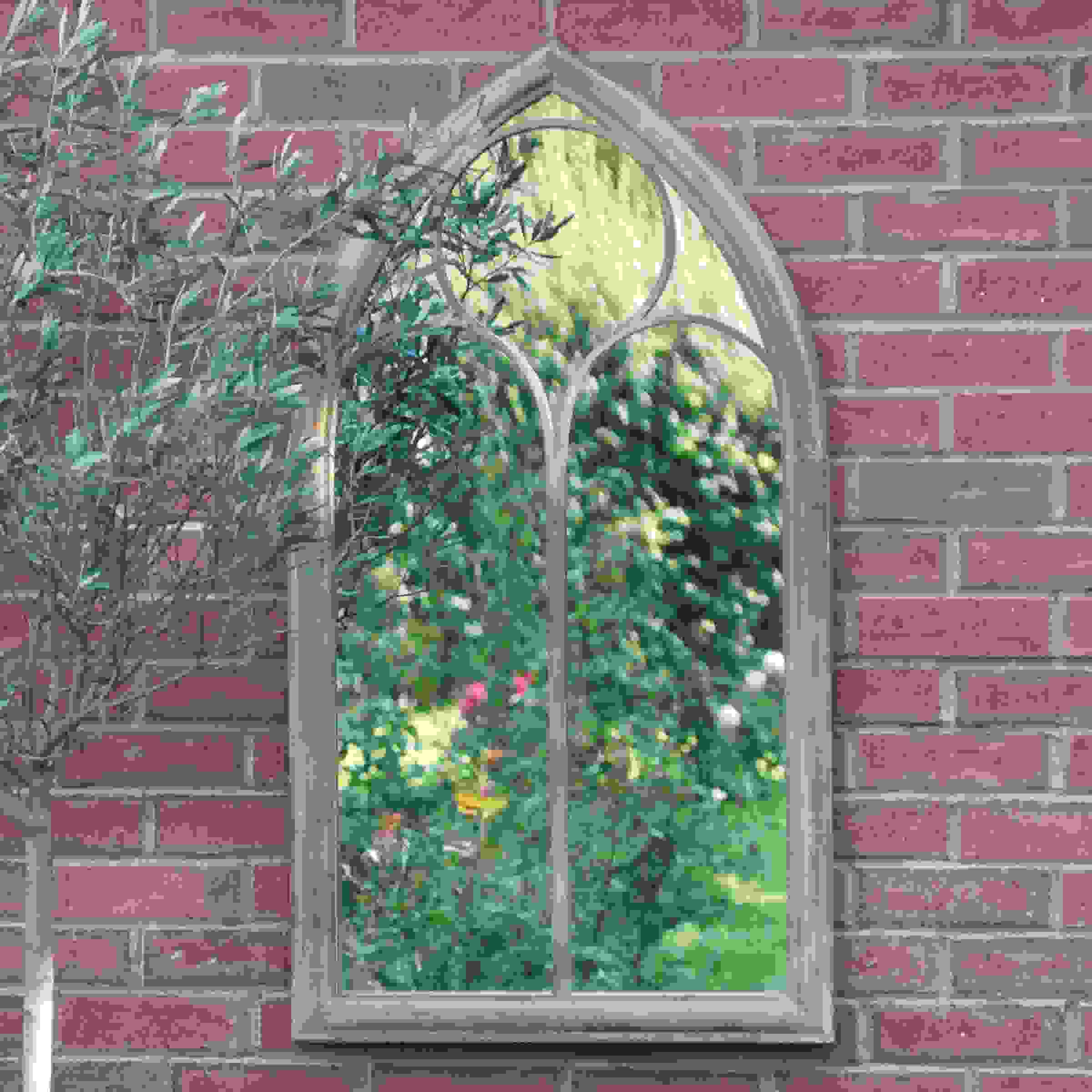 CHAPEL  WINDOW MIRROR (112cm)