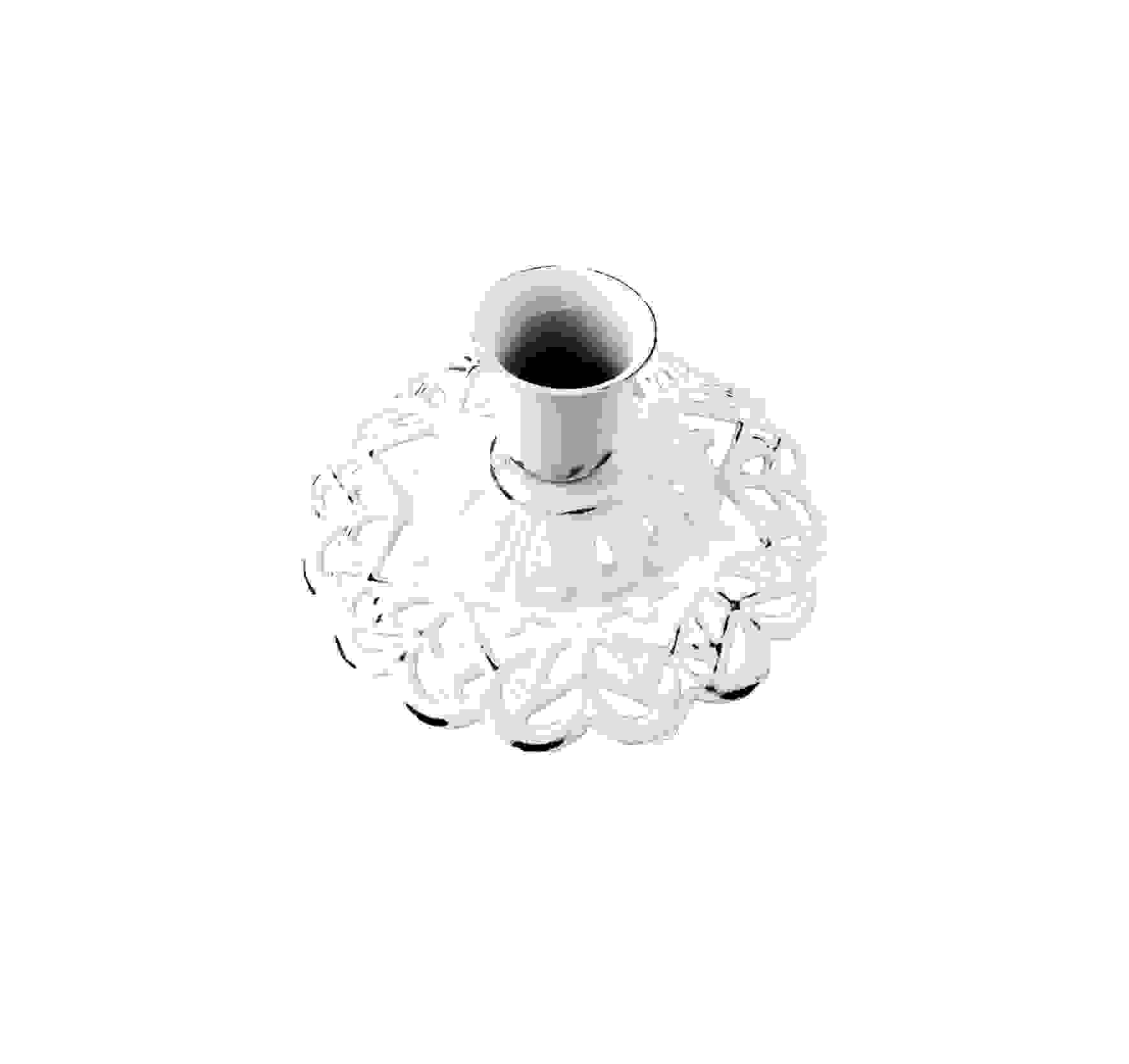 METAL FILIGREE CANDLE HOLDER