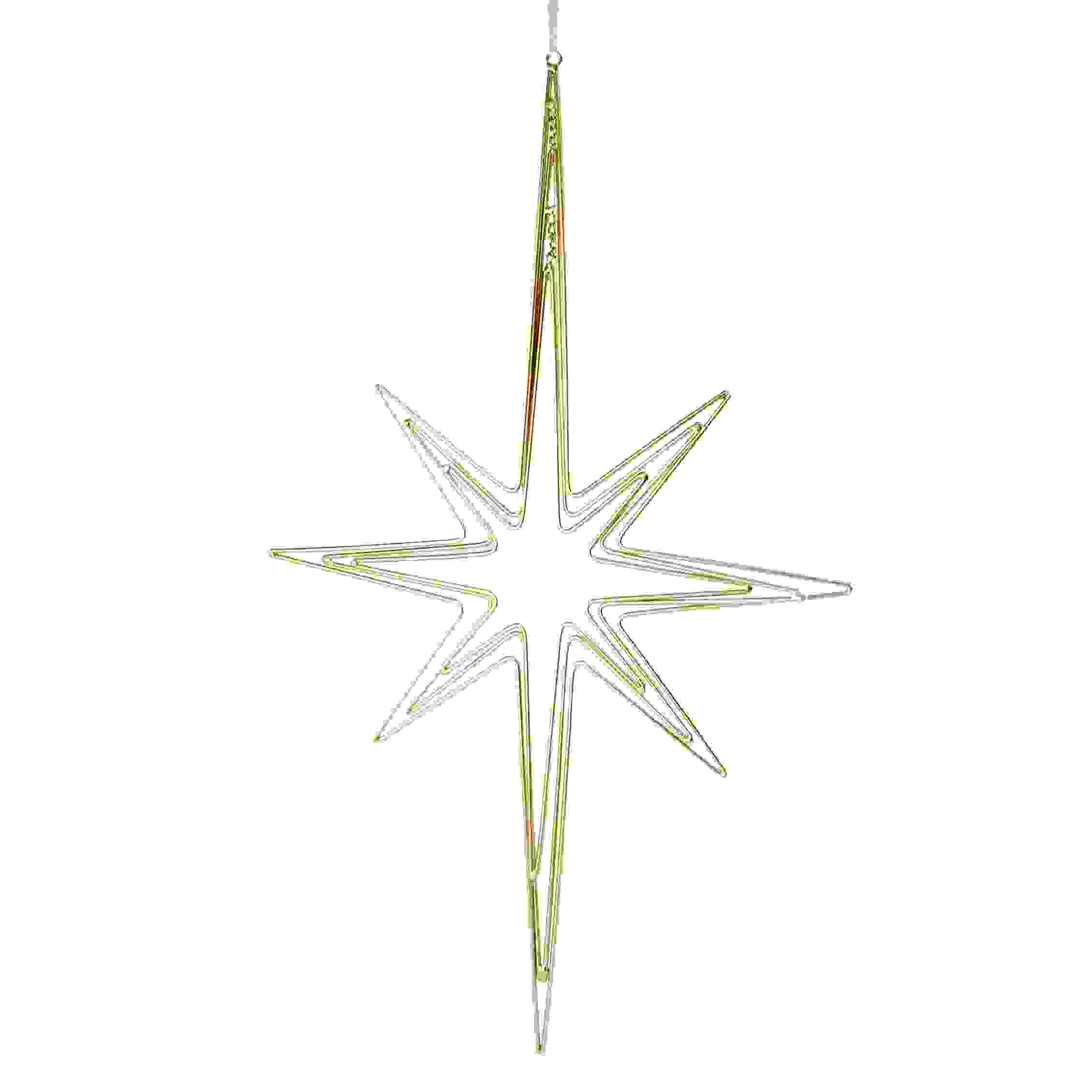 HANG. CUT OUT STAR OF BETHLEHEM