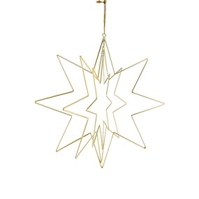HANG. METAL CUT OUT 3D STAR