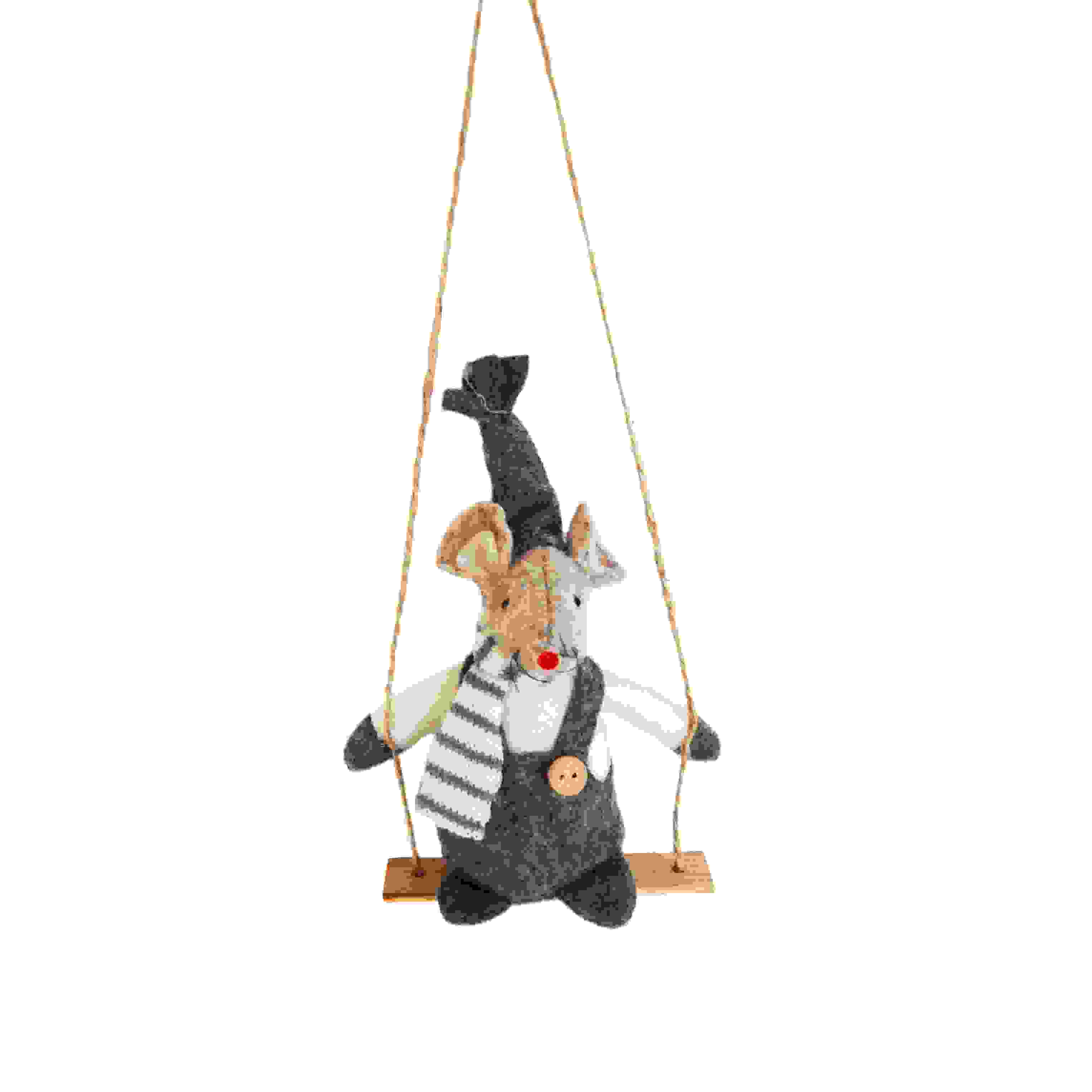 HANG. MOUSE ON SWING
