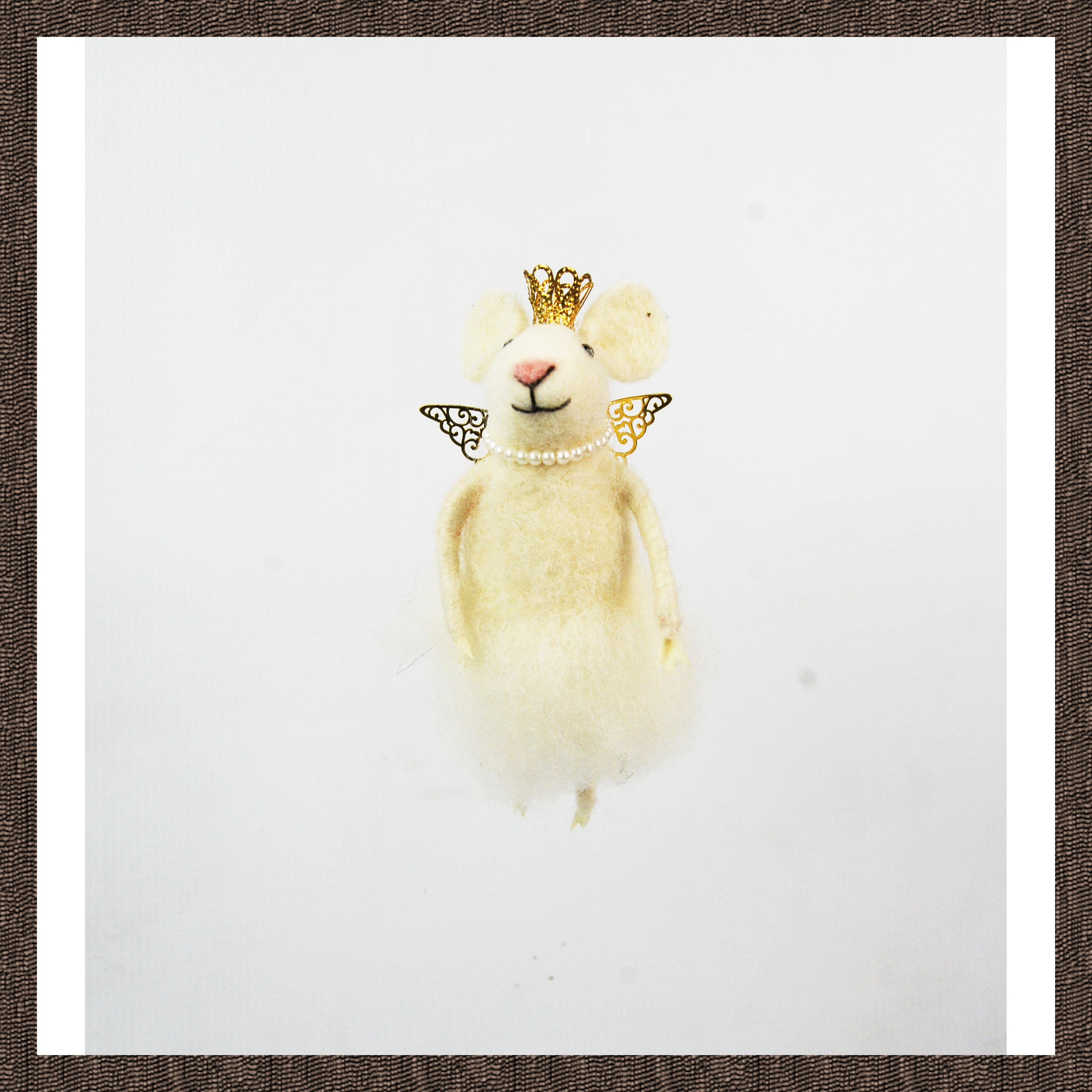 HANG. FAIRY MOUSE w/CROWN