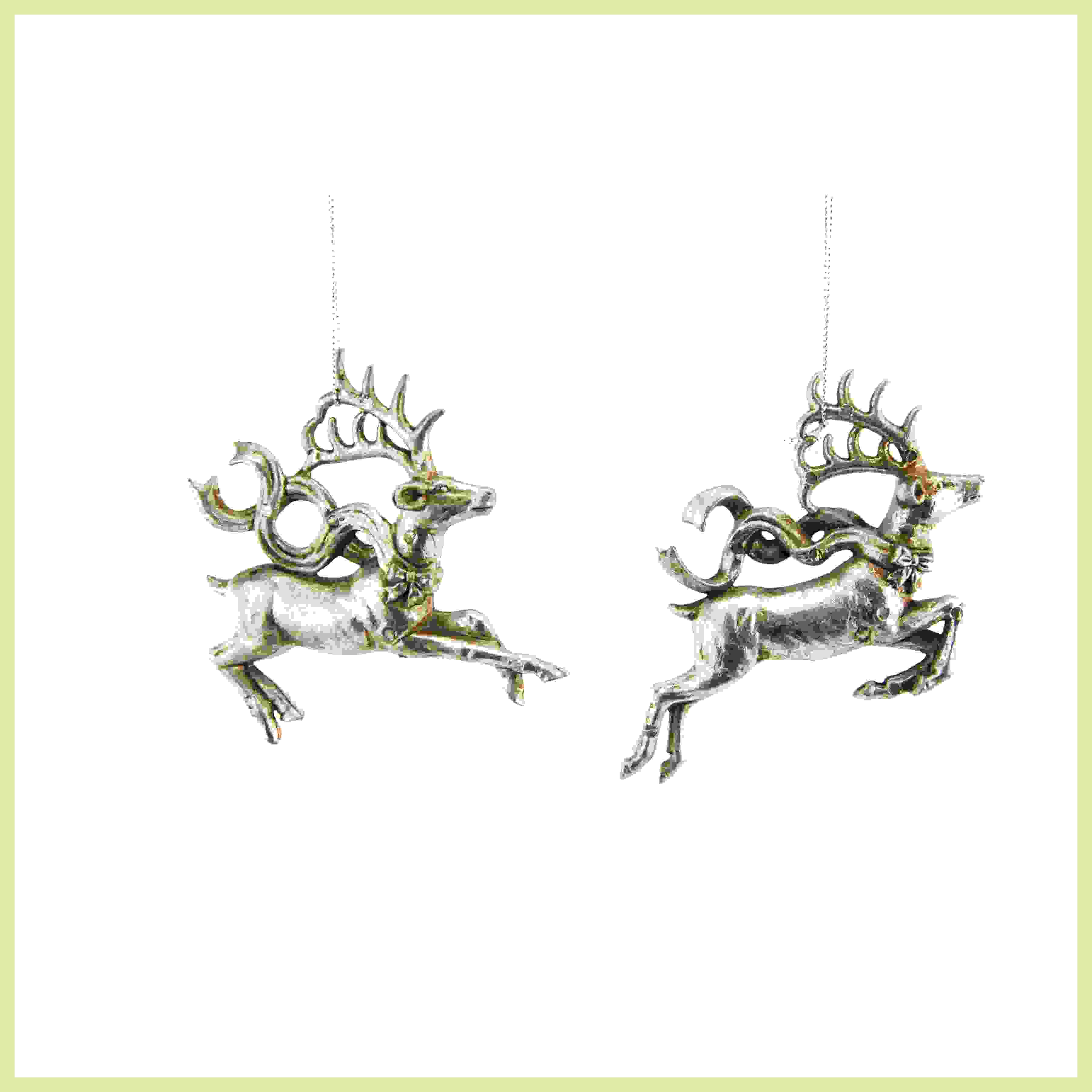 HANG. DONNER & BLITZEN ASS. FLYING REINDEER ANT. SILVER