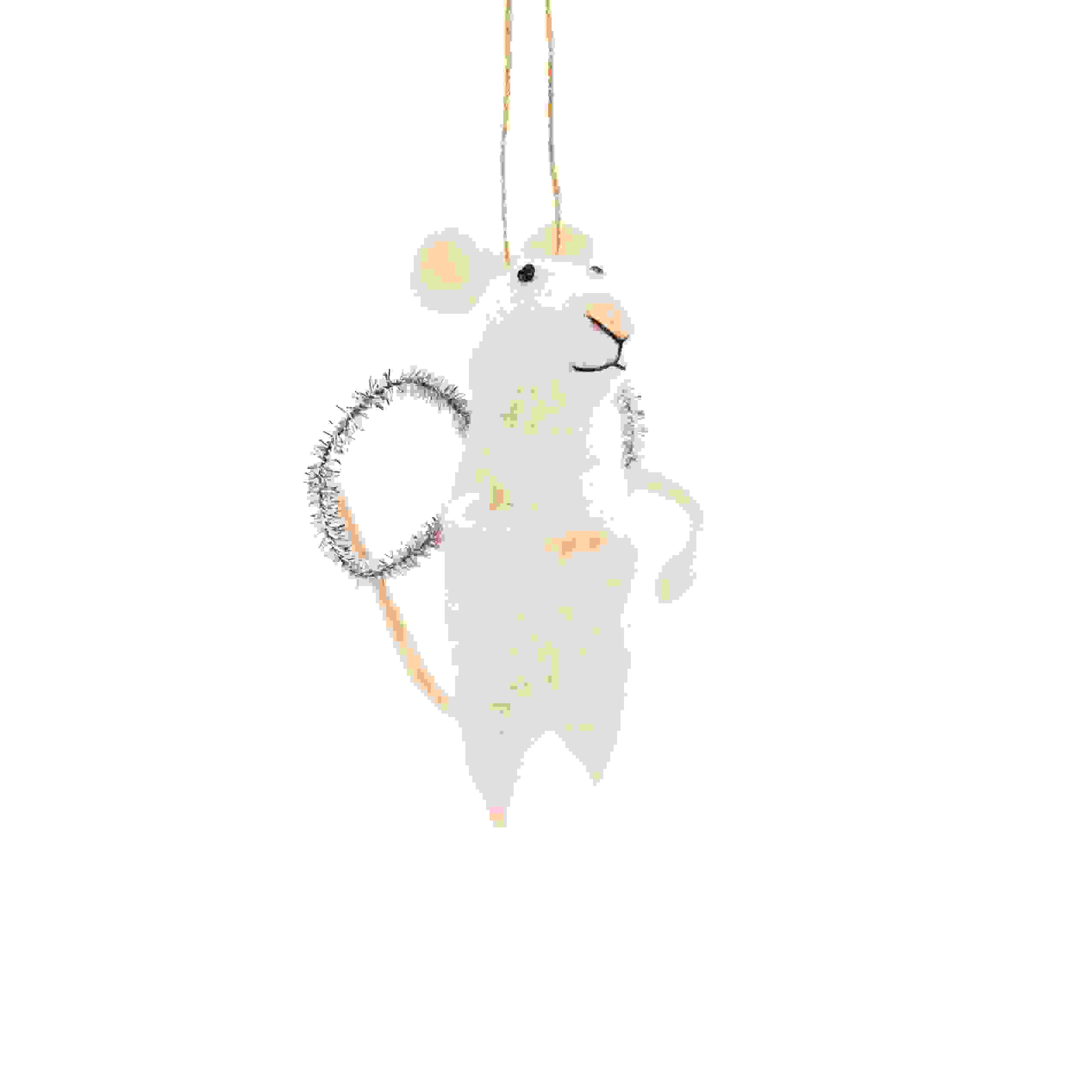 HANG. WHITE ANGEL MOUSE