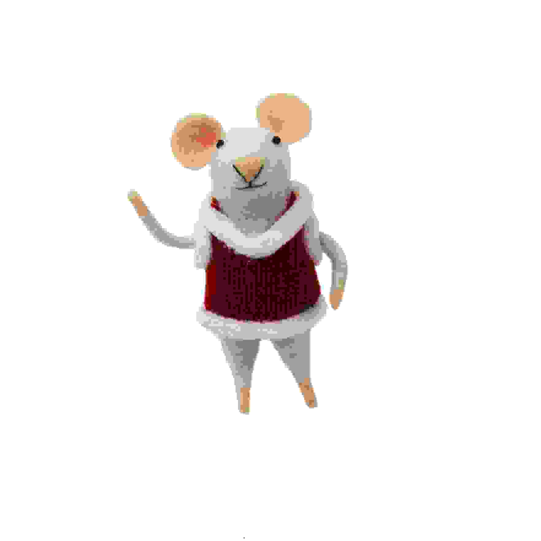 STANDING FESTIVE MOUSE