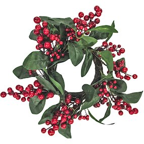 WREATH LEAF/BERRY