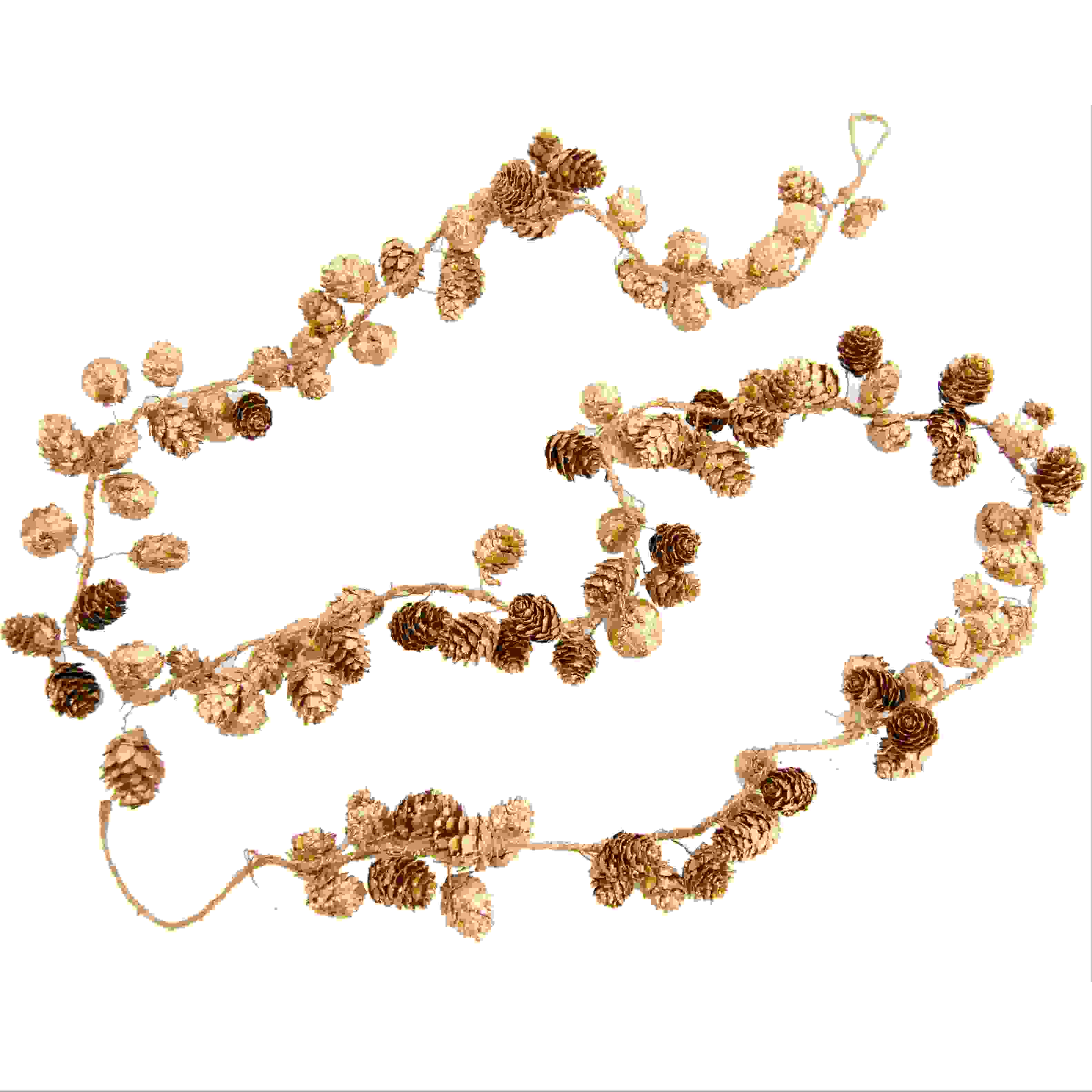 GARLAND PINECONE 200cm